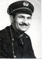 Édesapám: hajóvezető kb. 1975-ben